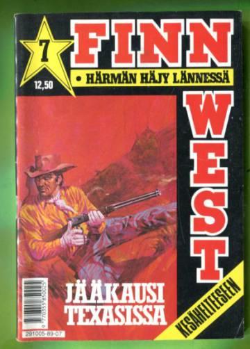 Finn West 7/89 - Jääkausi Texasissa