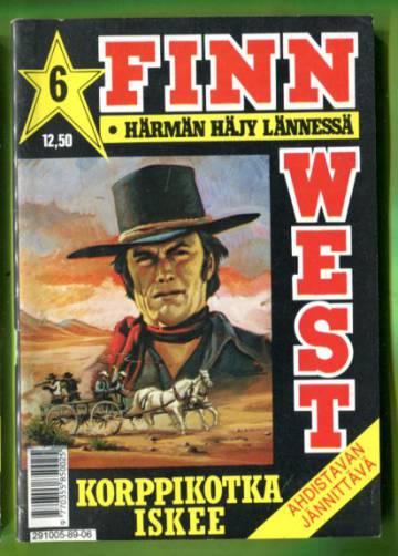 Finn West 6/89 - Korppikotka iskee