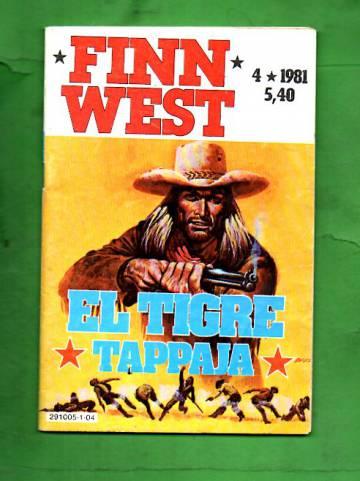Finn West 4/81 - El Tigre tappaja