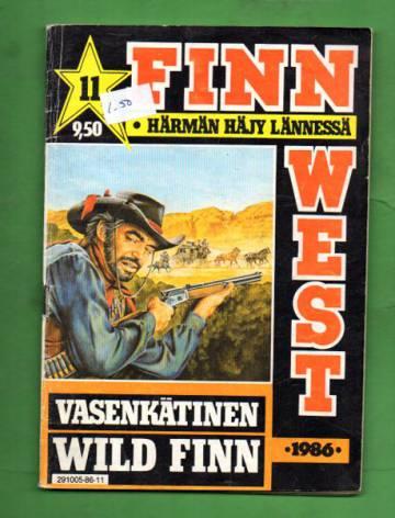 Finn West 11/86 - Vasenkätinen Wild Finn