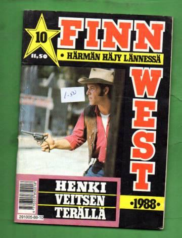 Finn West 10/88 - Henki veitsen terällä