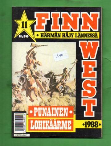Finn West 11/88 - Punainen lohikäärme