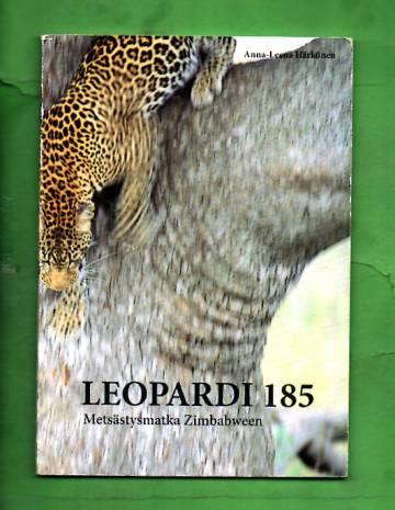 Leopardi 185 - Metsästysmatka Zimbabween