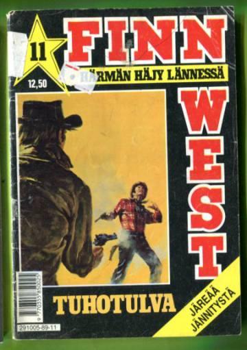 Finn West 11/89 - Tuhotulva