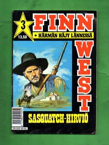 Finn West 3/90 - Sasquatch-hirviö