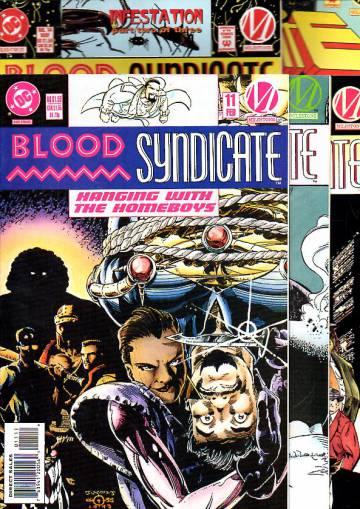 Blood Syndicate -paketti (18 numeroa)