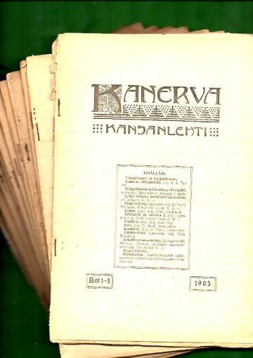 Kanerva 1905 (Täysi vuosikerta)