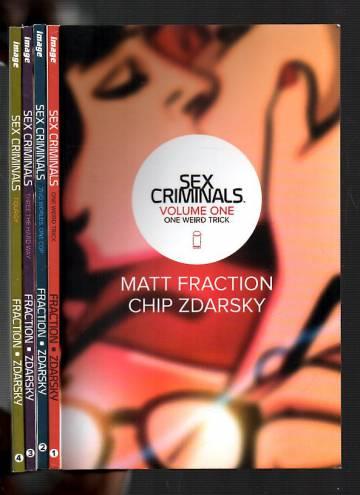 Sex Criminals Vol 1-4 -paketti (2o ensimmäistä numeroa)