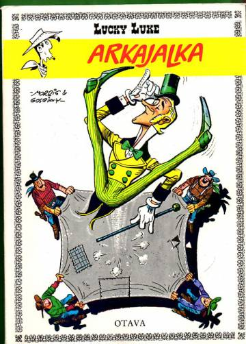 Lucky Luke 1 - Arkajalka (1. painos)