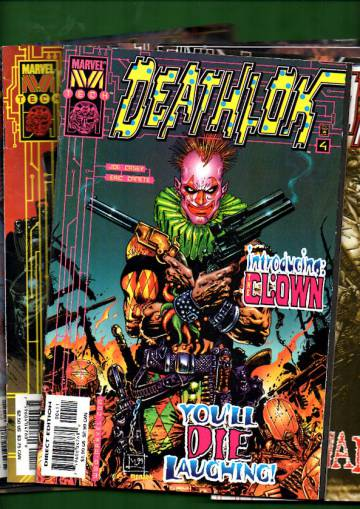 Deathlok -paketti 3 (8 numeroa)