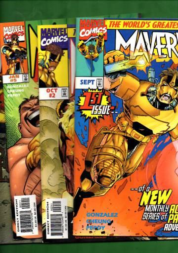 Maverick -paketti ( 4 numeroa)