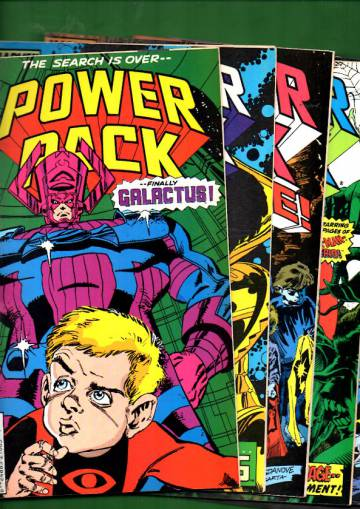 Power Pack -paketti (6 numeroa)