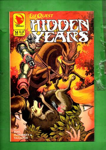 Elfquest: Hidden Years #14 Jun 94