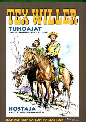 Tex Willer -suuralbumi 37 - Tuhoajat & Kostaja