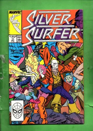 Silver Surfer Vol. 3 #11 May 88