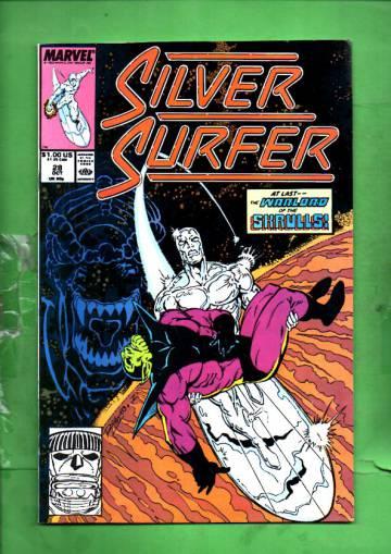 Silver Surfer Vol. 3 #28 Oct 89