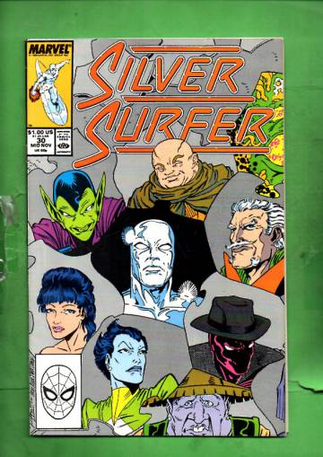 Silver Surfer Vol. 3 #30 Mid Nov 89