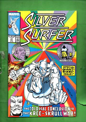 Silver Surfer Vol. 3 #31 Dec 89