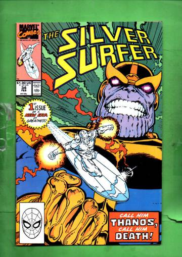 Silver Surfer Vol. 3 #34 Feb 90