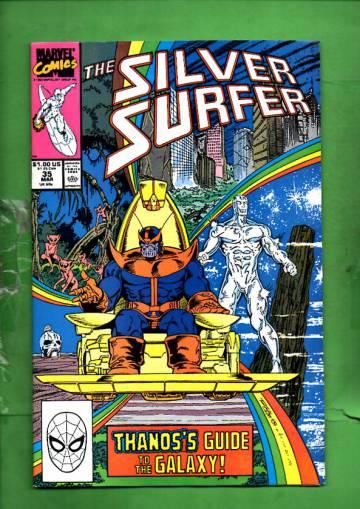 Silver Surfer Vol. 3 #35 Mar 90