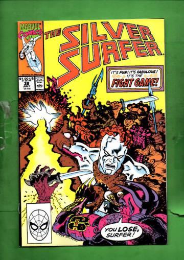 Silver Surfer Vol. 3 #39 Jul 90