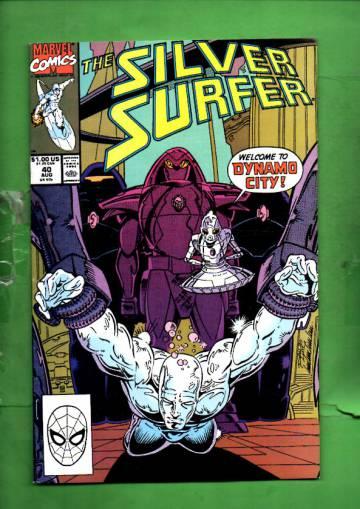 Silver Surfer Vol. 3 #40 Aug 90