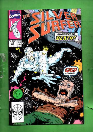 Silver Surfer Vol. 3 #43 Nov 90