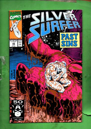 Silver Surfer Vol. 3 #48 Apr 91