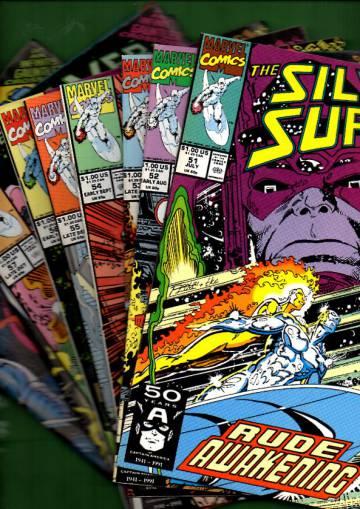 Silver Surfer Vol. 3 #51 Jul - #59 Late Nov 91 (whole mini-series)
