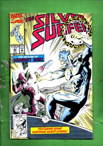 Silver Surfer Vol. 3 #60 Dec 91