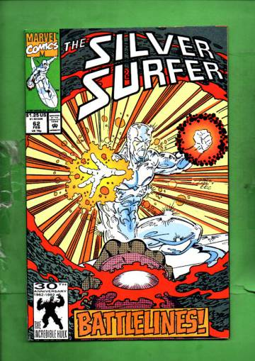 Silver Surfer Vol. 3 #62 Feb 92