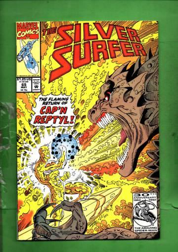 Silver Surfer Vol. 3 #65 May 92