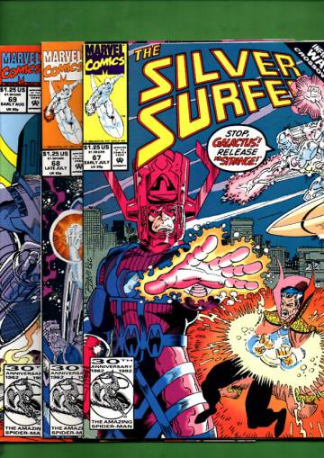Silver Surfer Vol. 3 #67 Early Jul - #69 Early Aug 92 (whole mini-series)