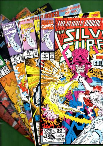 Silver Surfer Vol. 3 #70 Late Aug - #75 Dec 92 (whole mini-series)