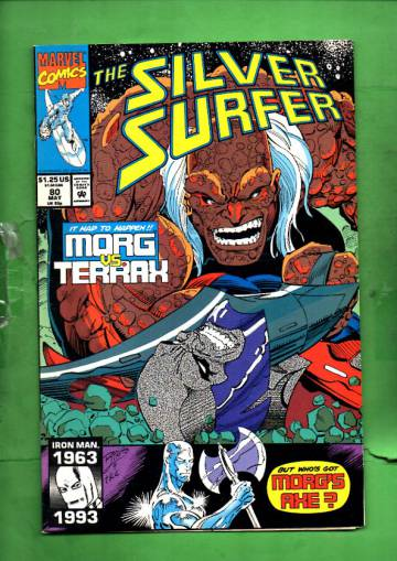 Silver Surfer Vol. 3 #80 May 93