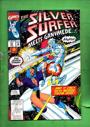 Silver Surfer Vol. 3 #81 Jun 93