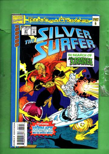 Silver Surfer Vol. 3 #87 Dec 93