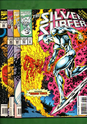 Silver Surfer Vol. 3 #93 Jun - #96 Sep 94 (whole mini-series)