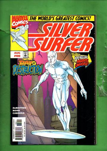 Silver Surfer Vol. 3 #130 Aug 97