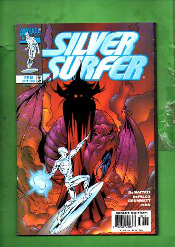 Silver Surfer Vol. 3 #136 Feb 98