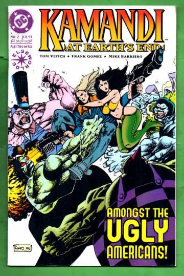 Kamandi: At Earth's End #2 Jul 93