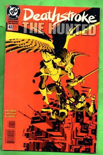 Deathstroke, The Hunted #43 Jan 95