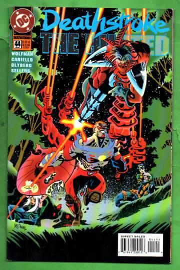 Deathstroke, The Hunted #44 Feb 95