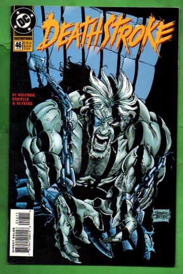 Deathstroke, The Hunted #46 Apr 95