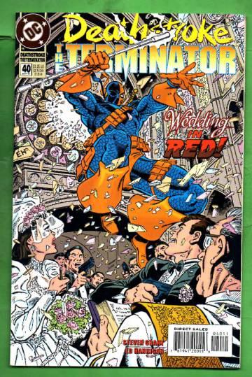 Deathstroke, The Terminator #40 Sep 94