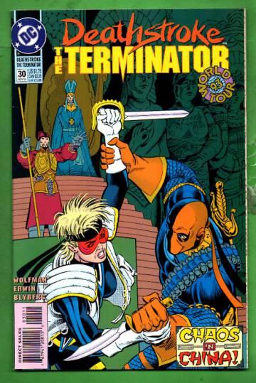 Deathstroke, The Terminator #30 Nov 93
