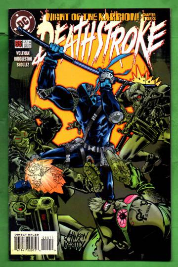 Deathstroke #55 Jan 96