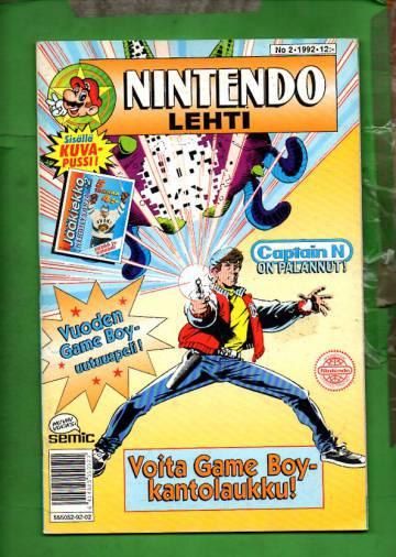 Nintendo-lehti 2/92
