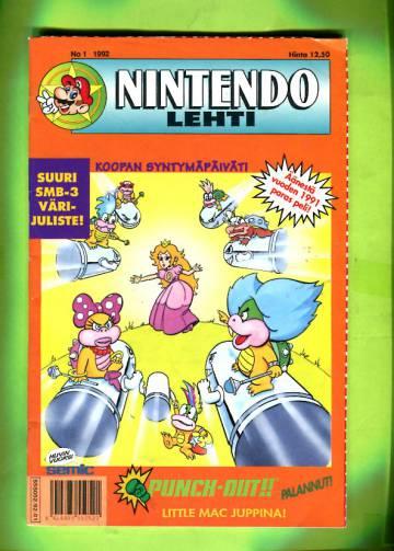 Nintendo-lehti 1/92