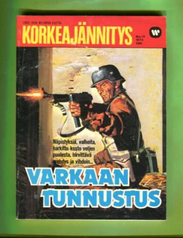 Korkeajännitys 13/73 - Varkaan tunnustus